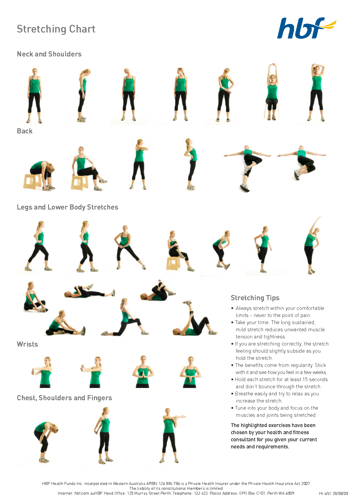 The gallery for --> Back Flexibility Stretches